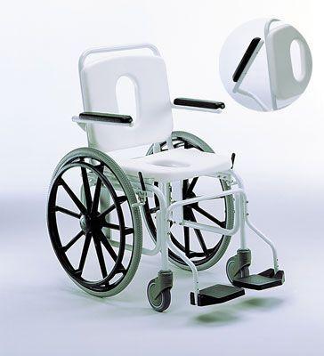 Shower chair / on casters 915 GIRALDIN G. & C.
