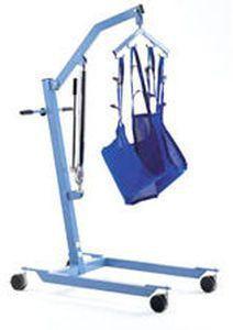Mobile patient lift / hydraulic 407 GIRALDIN G. & C.