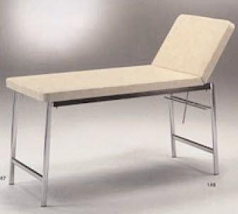 Fixed examination table / 2-section 147 GIRALDIN G. & C.