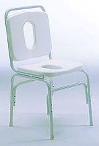 Shower chair / with cutout seat 918 GIRALDIN G. & C.