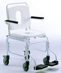 Shower chair / on casters 914 GIRALDIN G. & C.