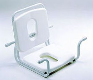 Bathtub seat / with cutout seat / with backrest / suspended 917 GIRALDIN G. & C.