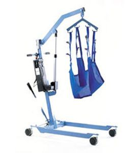 Mobile patient lift / electrical 410 GIRALDIN G. & C.