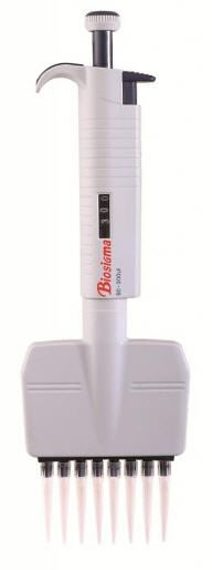 Mechanical micropipette / variable volume / multichannel / with ejector ABS133HP - ABS136HP Biosigma