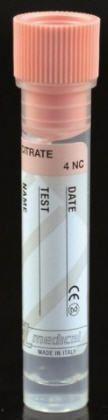 Sedimentation analysis collection tube / sodium citrate BST128 Biosigma