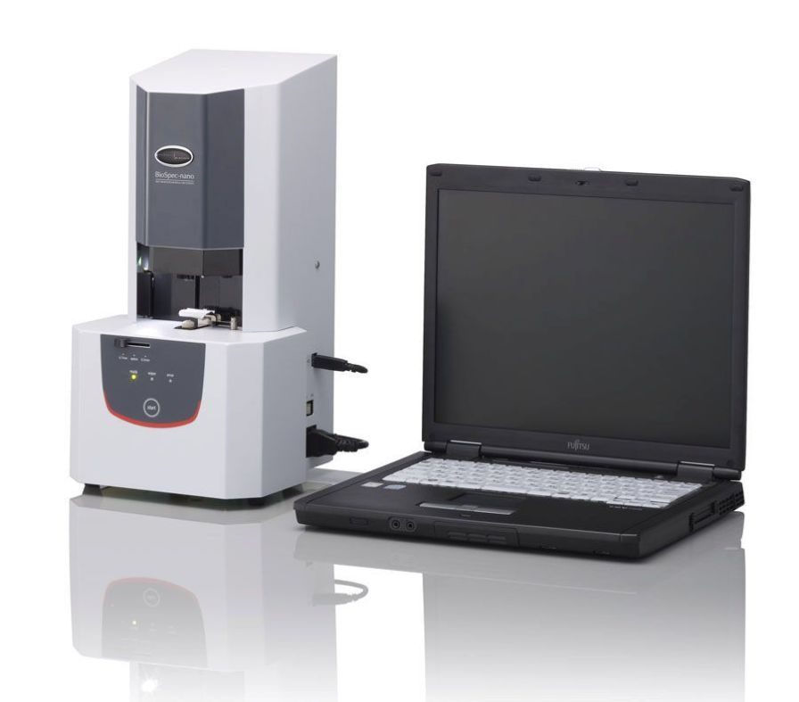 UV-visible absorption spectrometer 220 - 800 nm | BioSpec-nano Shimadzu Europa GmbH