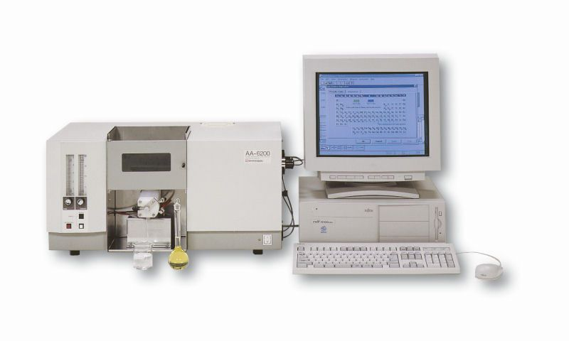Atomic absorption spectrometer / double-beam AA-6200 Shimadzu Europa GmbH