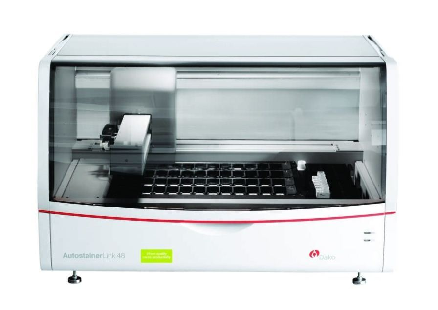 Staining automatic sample preparation system / for histology Autostainer Link 48 Dako