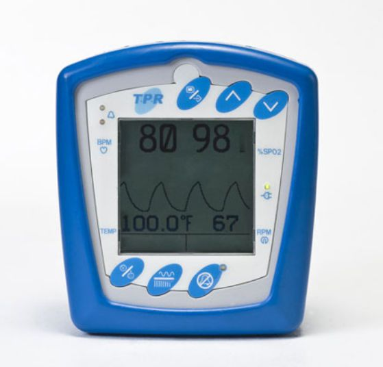 SpO2 vital signs monitor / NIBP / TEMP / veterinary V3395 Smiths Medical Surgivet