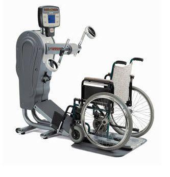 Upper limbs ergometer pedal exerciser 130 rpm, 0 - 999 W | RUN 7414-7417 T Runner