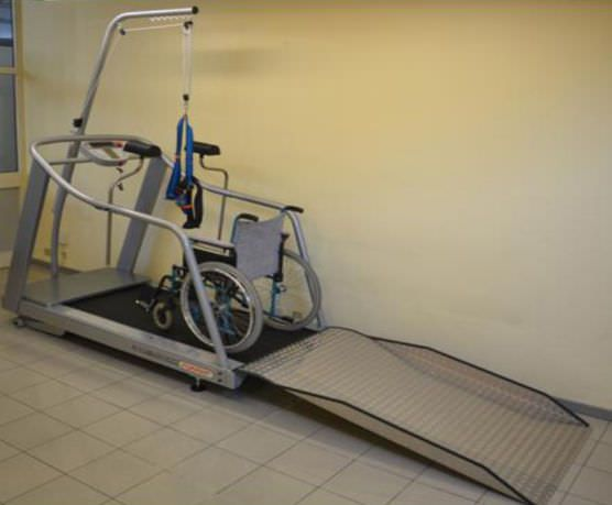 Treadmill with harness systems / with handrails / with underarm bars Run 7410 TJXL Runner