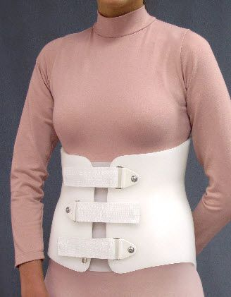 Lumbosacral (LSO) support corset Single Opening Spinal Technology