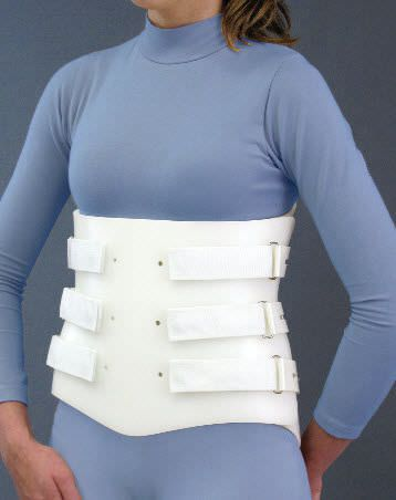 Lumbosacral (LSO) support corset Bivalve Spinal Technology