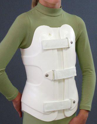 Thoracolumbosacral (TLSO) support corset Flex Foam ® II & III Spinal Technology