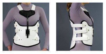 Thoracolumbosacral (TLSO) support corset / with sternal pad S.T.O.P. I V Spinal Technology
