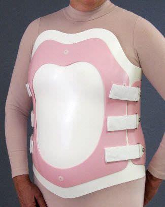 Thoracolumbosacral (TLSO) support corset Flex Foam ® I Bivalve Spinal Technology