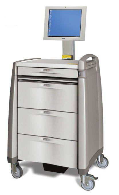 Medical computer cart / medicine distribution LTCI Capsa Solutions