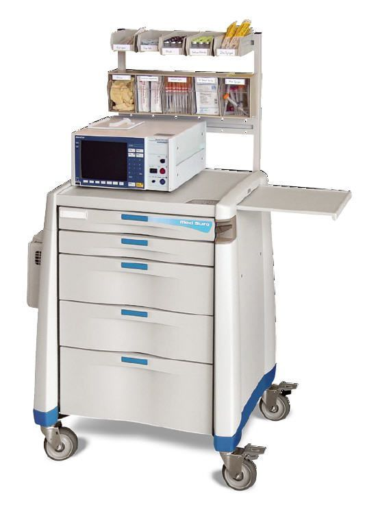 Treatment trolley / with drawer Capsa Solutions
