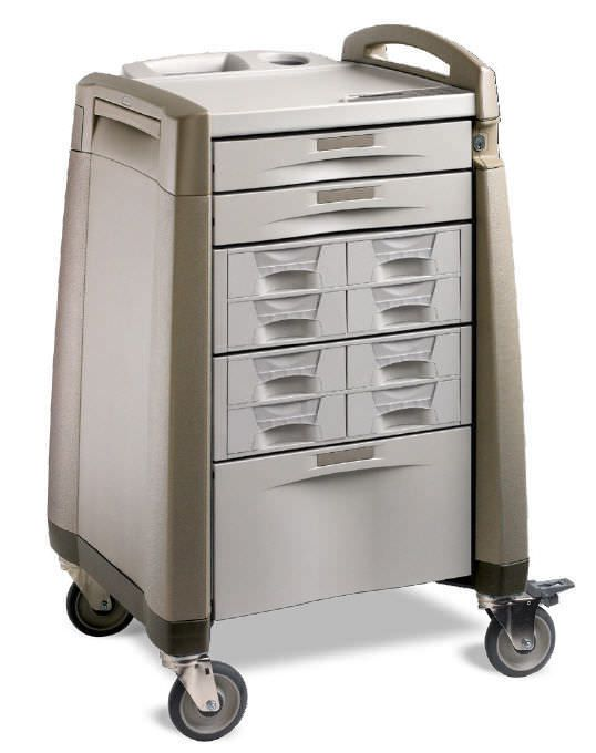 Medicine distribution trolley AC SERIES Capsa Solutions