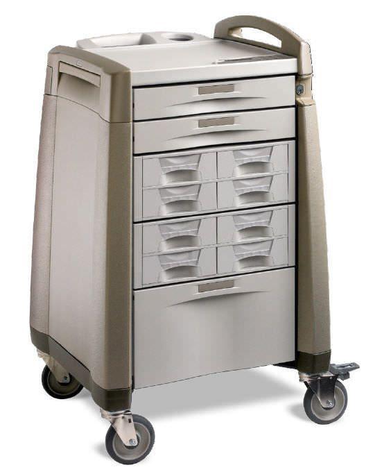 Medicine distribution trolley AC SERIES Capsa Solutions