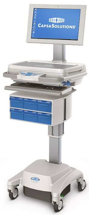 Medical computer cart / medicine distribution MX SERIES Capsa Solutions
