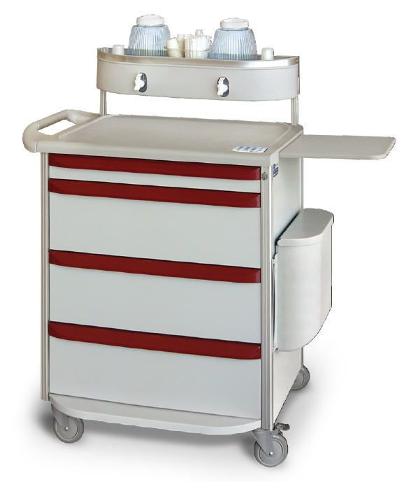 Medicine distribution trolley M-SERIES Capsa Solutions