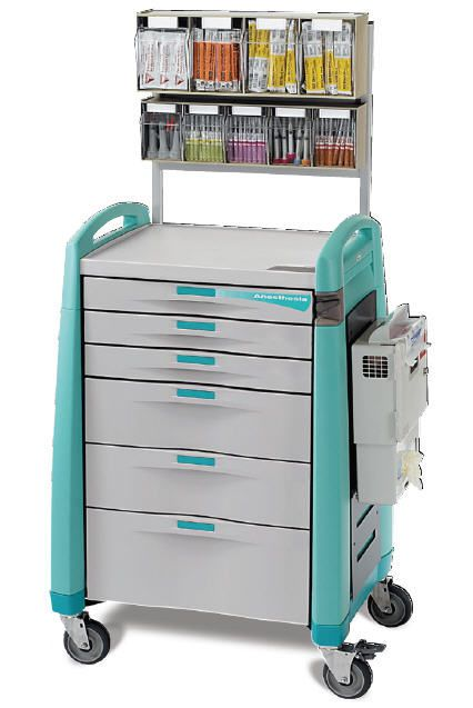 Anesthesia trolley / with shelf unit Capsa Solutions