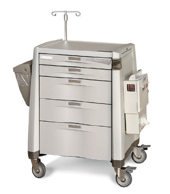 Multi-function trolley / with drawer Capsa Solutions