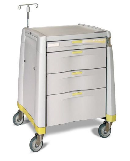 Intravenous procedure trolley / treatment / with drawer Capsa Solutions