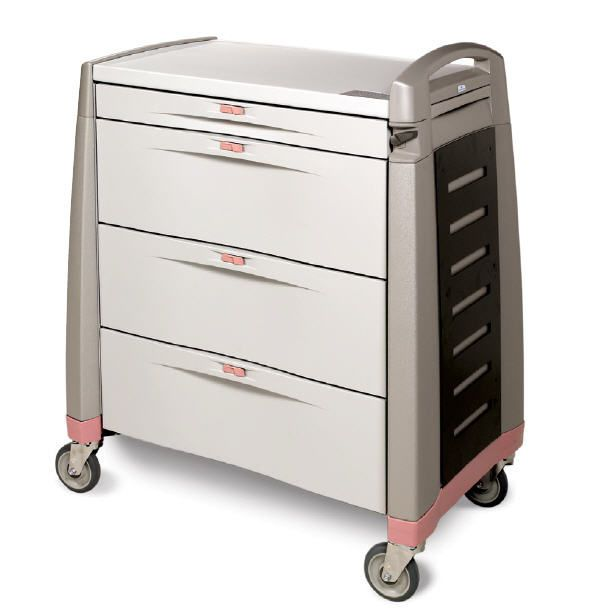 Medicine distribution trolley LTC SERIES Capsa Solutions