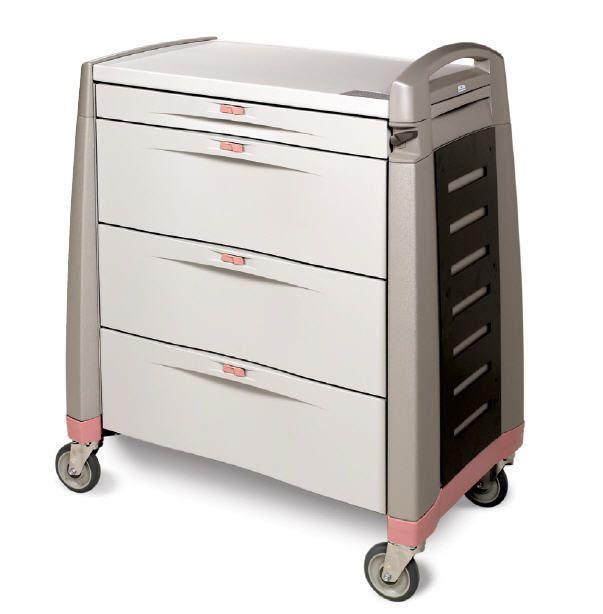 Medicine distribution trolley LTC SERIES Capsa Solutions