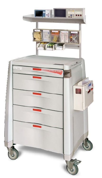 Intensive care trolley / with drawer Capsa Solutions