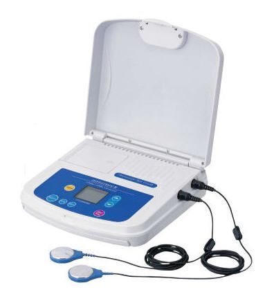 Ultrasound diathermy unit (physiotherapy) / 2-channel OSTENTRON III Ito
