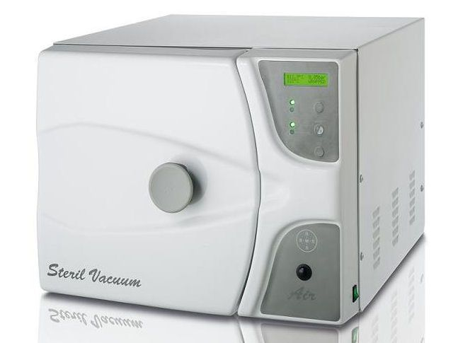 Dental autoclave / bench-top / with vacuum cycle BMS DENTAL