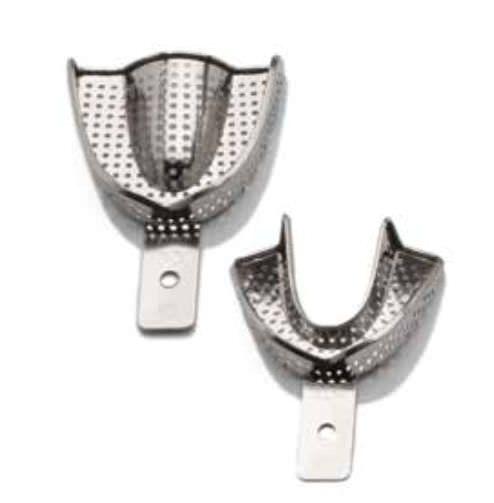 Perforated dental impression tray 8.08 Series BMS DENTAL