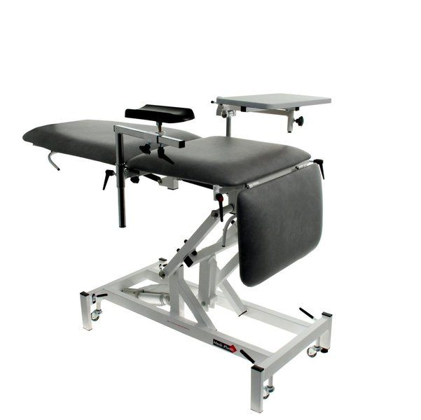 Minor surgery examination table / hydraulic / on casters / 3-section Medi-Plinth
