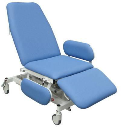 Reclining medical sleeper chair / on casters / electrical Medi-Plinth
