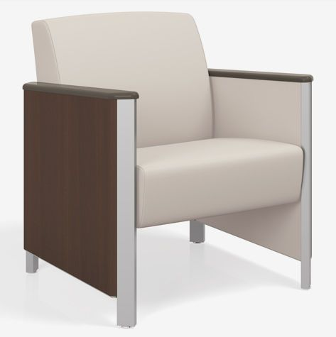 Waiting room armchair 4601M Spec