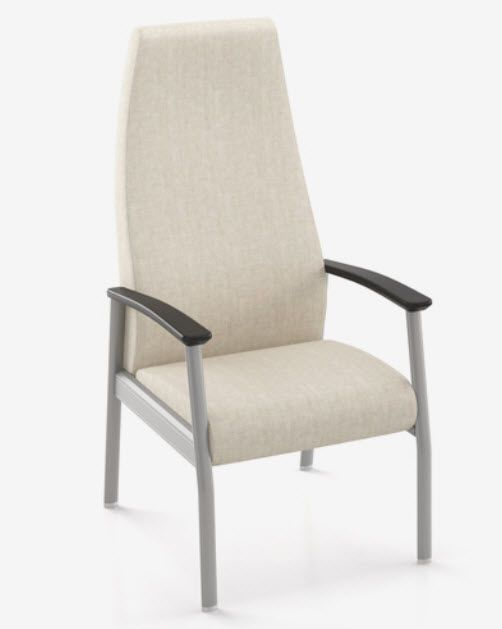 Chair with armrests / with high backrest 8101H Spec