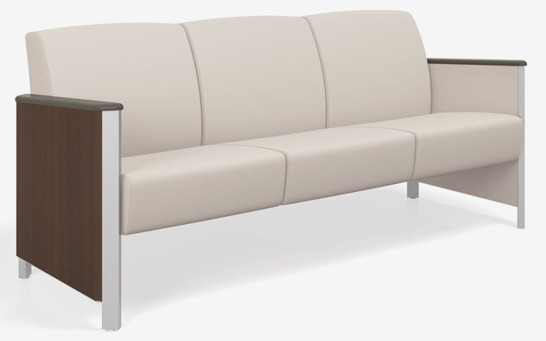 Waiting room sofa / 3 seater 4603M Spec