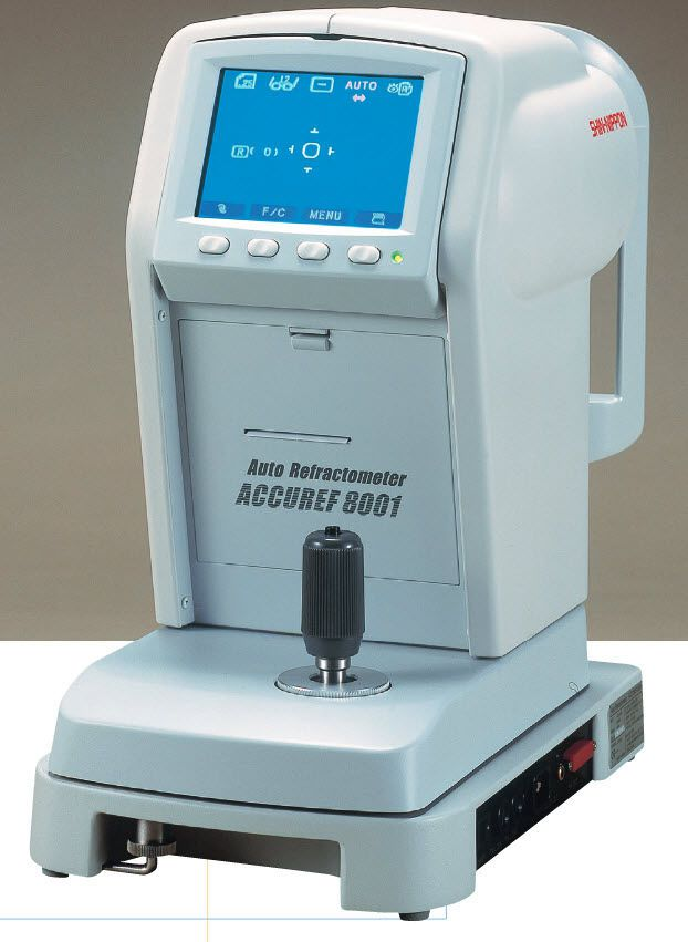 Keratometer (ophthalmic examination) / automatic refractometer / pupil meter Accuref 8001 Shin-Nippon