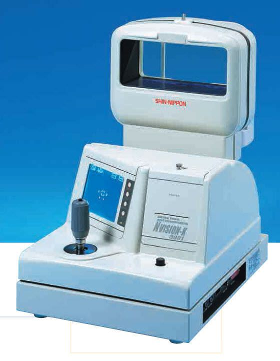 Pupil meter (ophthalmic examination) / keratometer / automatic refractometer NVision-K 5001 Shin-Nippon