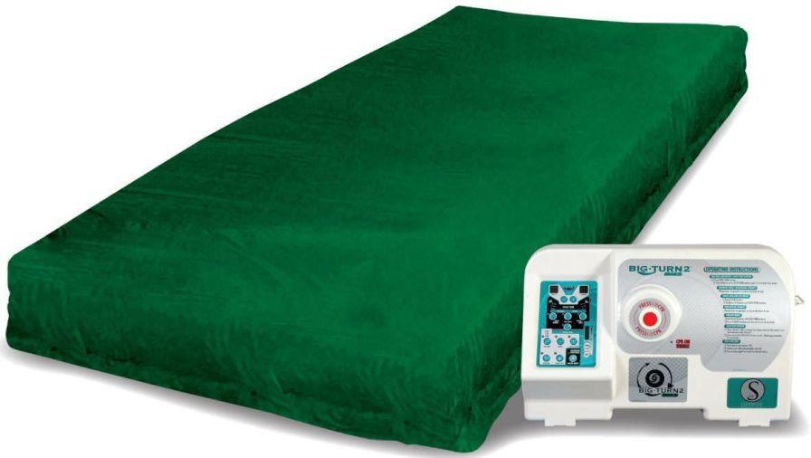 Anti-decubitus mattress / for hospital beds / dynamic air / tube Big Turn Sizewise