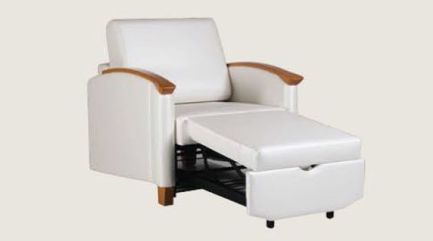 Healthcare facility convertible chair SW Sleepchair™ Sizewise