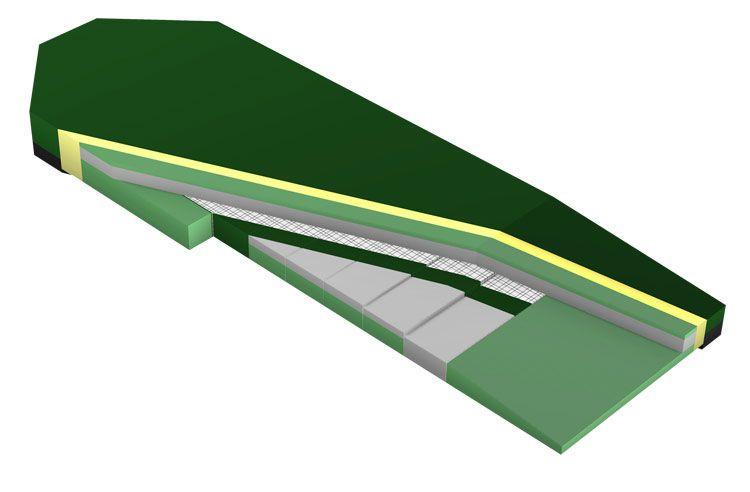 Stretcher mattress Envy Line: S series Sizewise