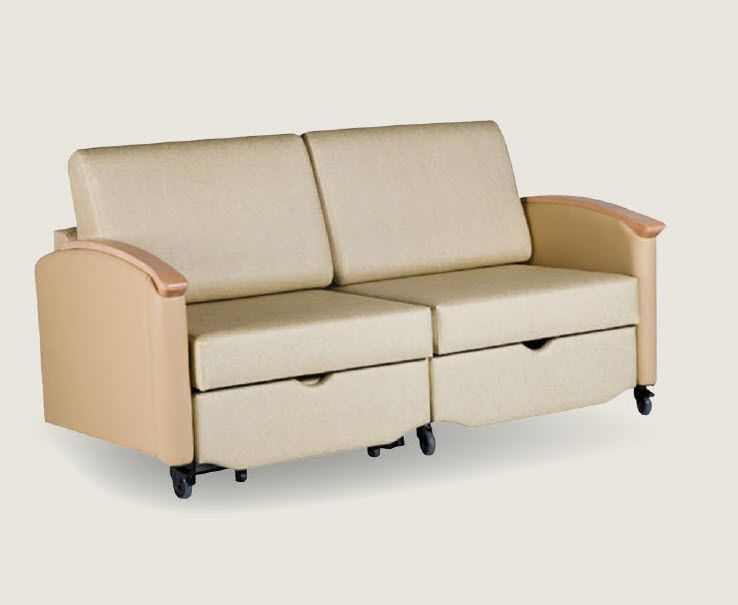 Healthcare facility sofa-bed SW Sleepchair Deluxe™ Sizewise