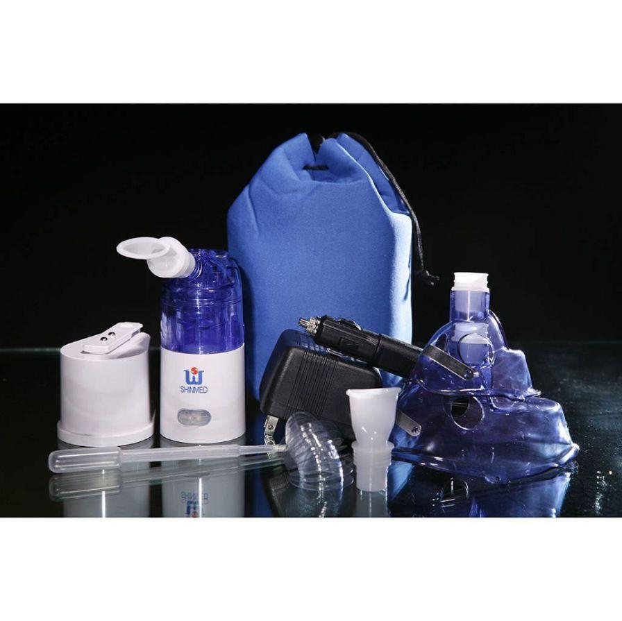 Ultrasonic nebulizer / handheld / with mask SW988 Shining World Health Care Co., LTD