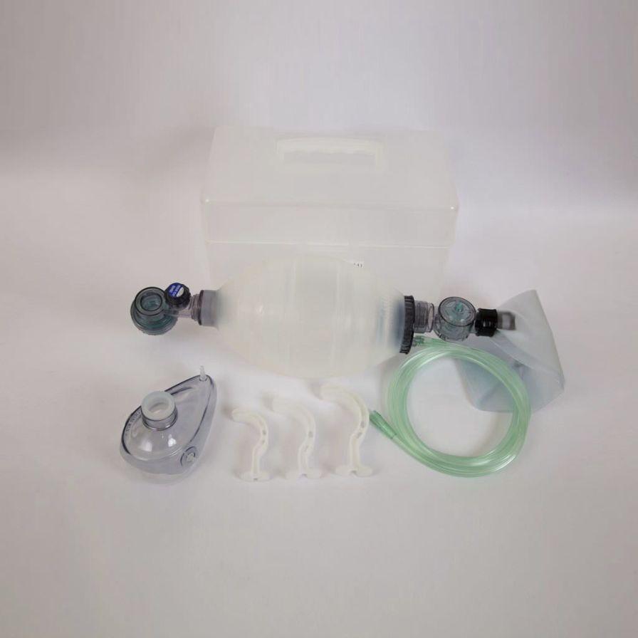Adult manual resuscitator / reusable / with mask 1 500 mL | SW72101B Shining World Health Care Co., LTD