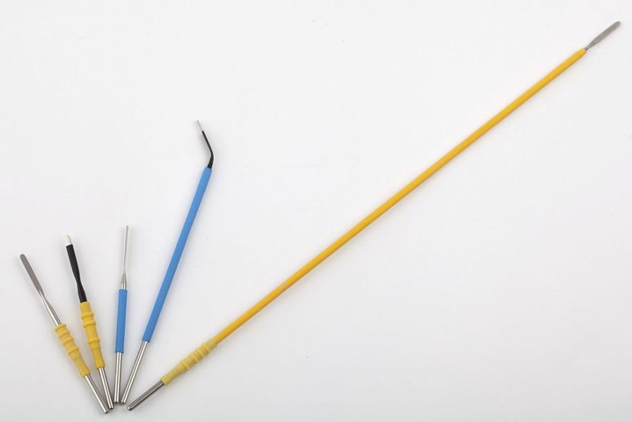 Blade electrode / for electrosurgical units / disposable Shining World Health Care Co., LTD