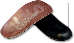 3-4 length orthopedic insole with heel pad CONTOUR Solo Laboratories